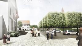 Ortsmitte Nufringen – Kirchplatz