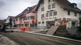 Baufortschritt in Nufringen
