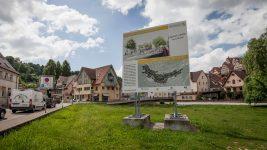 Baubeginn Postplatz Altensteig