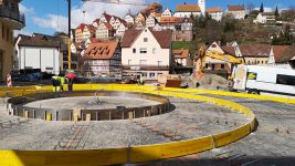 Der Stadteingang Altensteig nimmt Gestalt an